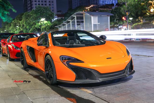 Chia tay đại gia Hà Thành, McLaren 650S Spider màu độc độ hơn 600 triệu đồng về tay dân chơi Sài Gòn - Ảnh 1.