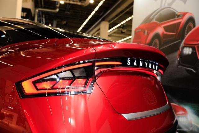 Xe Đài Loan lạ mắt San Yuan Concept gây ấn tượng tại Frankfurt - Ảnh 7.