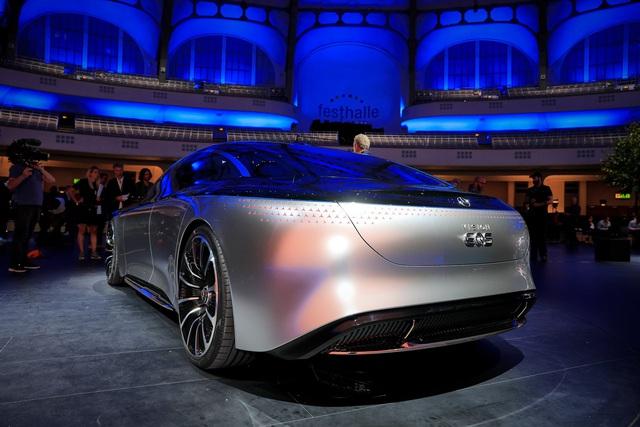 Chiêm ngưỡng Mercedes Vision EQS: Đỉnh cao thiết kế từ trong ra ngoài - Ảnh 4.