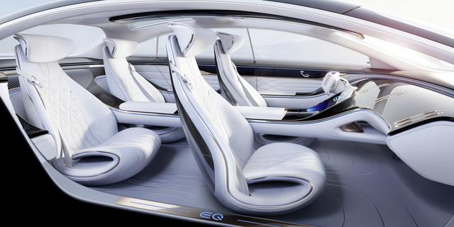 Chiêm ngưỡng Mercedes Vision EQS: Đỉnh cao thiết kế từ trong ra ngoài - Ảnh 7.