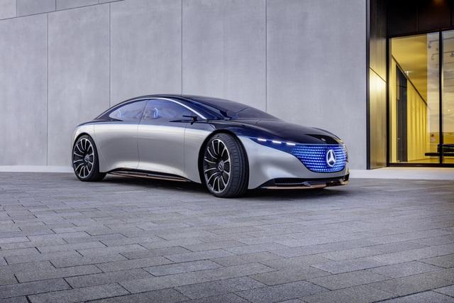 Chiêm ngưỡng Mercedes Vision EQS: Đỉnh cao thiết kế từ trong ra ngoài - Ảnh 8.