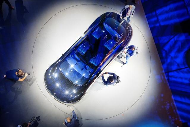 Chiêm ngưỡng Mercedes Vision EQS: Đỉnh cao thiết kế từ trong ra ngoài - Ảnh 9.