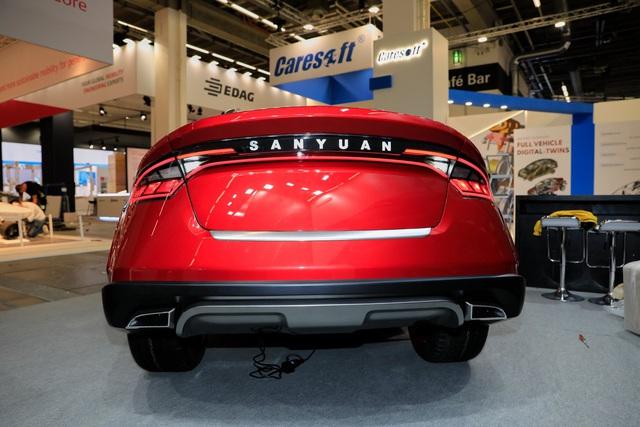 Xe Đài Loan lạ mắt San Yuan Concept gây ấn tượng tại Frankfurt - Ảnh 5.