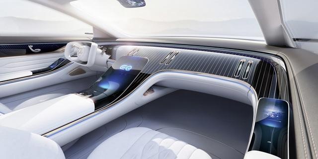 Chiêm ngưỡng Mercedes Vision EQS: Đỉnh cao thiết kế từ trong ra ngoài - Ảnh 6.