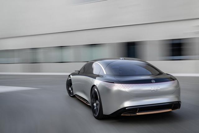 Chiêm ngưỡng Mercedes Vision EQS: Đỉnh cao thiết kế từ trong ra ngoài - Ảnh 10.