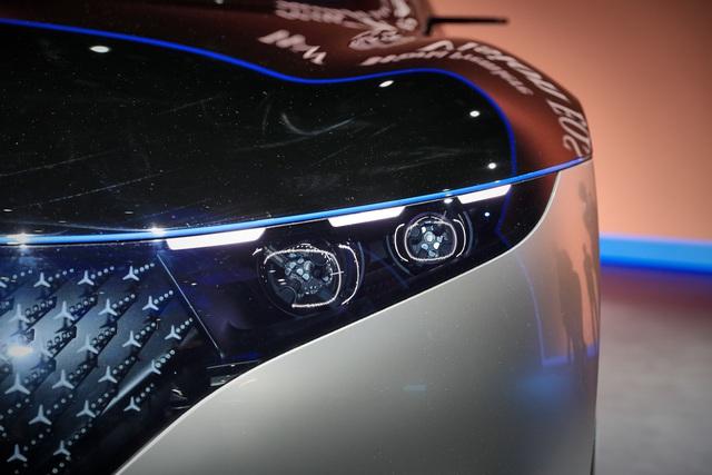 Chiêm ngưỡng Mercedes Vision EQS: Đỉnh cao thiết kế từ trong ra ngoài - Ảnh 3.