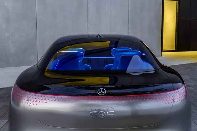 Chiêm ngưỡng Mercedes Vision EQS: Đỉnh cao thiết kế từ trong ra ngoài - Ảnh 11.