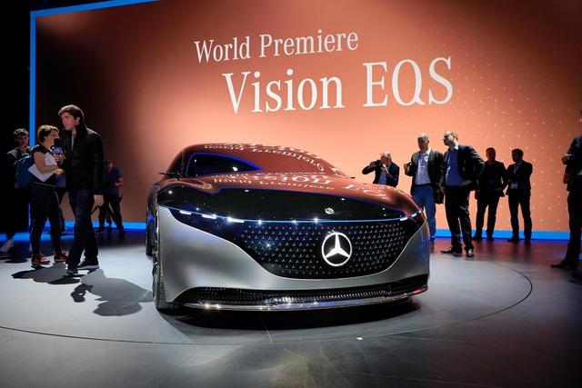 Chiêm ngưỡng Mercedes Vision EQS: Đỉnh cao thiết kế từ trong ra ngoài - Ảnh 12.