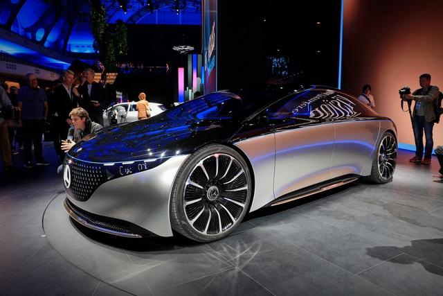 Chiêm ngưỡng Mercedes Vision EQS: Đỉnh cao thiết kế từ trong ra ngoài - Ảnh 1.