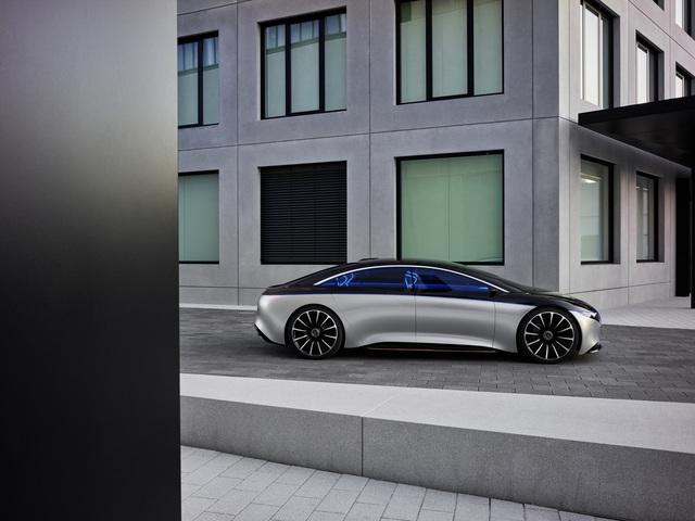 Chiêm ngưỡng Mercedes Vision EQS: Đỉnh cao thiết kế từ trong ra ngoài - Ảnh 15.