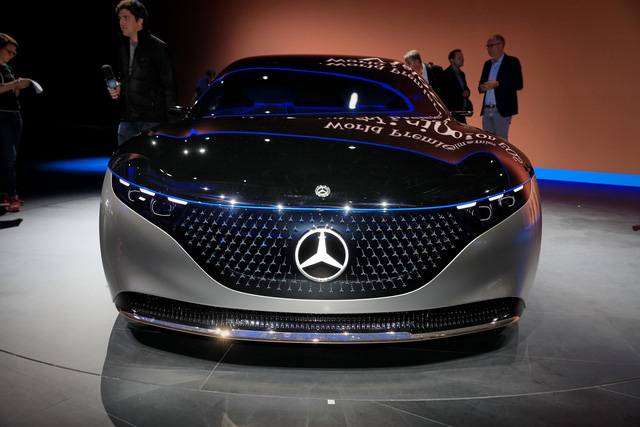 Chiêm ngưỡng Mercedes Vision EQS: Đỉnh cao thiết kế từ trong ra ngoài - Ảnh 16.
