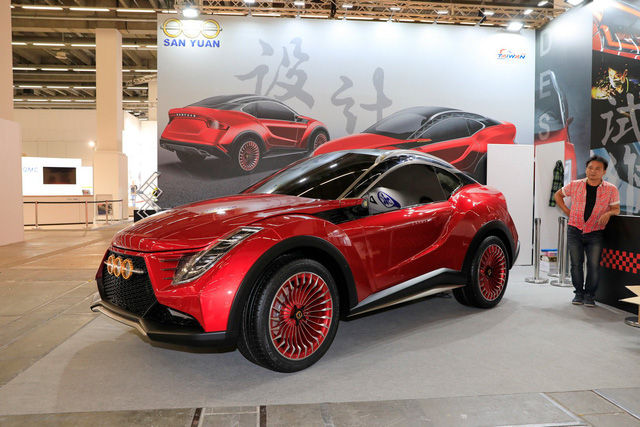 Xe Đài Loan lạ mắt San Yuan Concept gây ấn tượng tại Frankfurt - Ảnh 1.