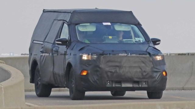 Thêm thông tin về bán tải Ford nhỏ hơn Ranger dùng khung gầm Focus