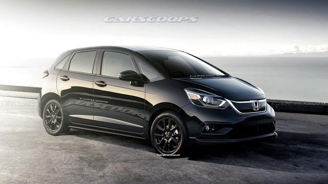 Honda Jazz 2020 lộ thêm thông tin mới