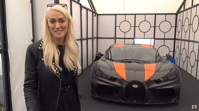 Chiêm ngưỡng siêu xe nhanh nhất thế giới Bugatti Chiron Super Sport 300+ ngoài đời thực
