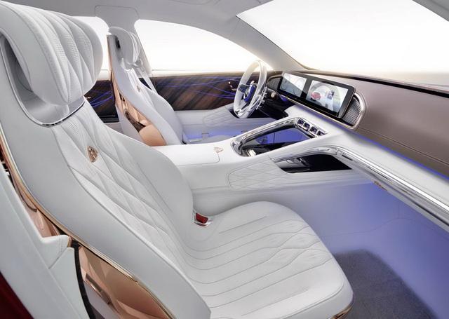 Mercedes-Maybach sẽ mở màn phân khúc SUL với SUV lai sedan siêu sang này - Ảnh 4.