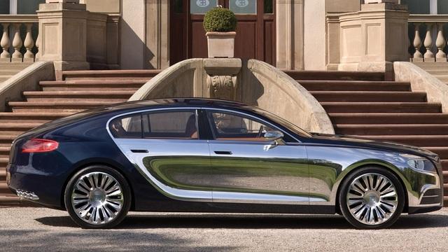 Bugatti âm thầm nghiên cứu sản xuất sedan hạng sang - Ảnh 1.