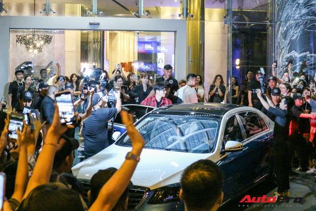 Chiếc Mercedes-Benz S-Class tháp tùng tài tử Ji Chang Wook tại Việt Nam có gì đặc biệt? - Ảnh 1.