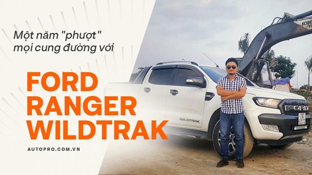 Người dùng đánh giá Ford Ranger Wildtrak mua cũ sau 1 năm sử dụng: Đi phố sang, chở hàng hay offroad cũng tiện