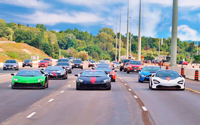 Khởi động ASEAN Rally 2020, dàn siêu xe của người Việt tại Mỹ nối đuôi nhau đi hành trình 1.600 km - Ảnh 1.