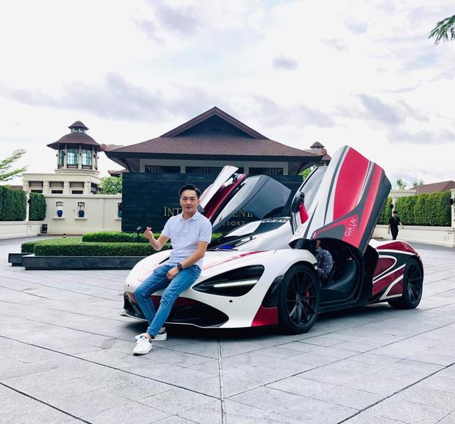 Doanh nhân Cường Đô-la lái McLaren đạt tốc độ 250 km/h trong chuyến tiền trạm ASEAN Rally 2020 - Ảnh 2.