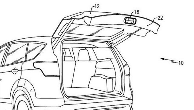 Ford lên ý tưởng lắp đặt máy chiếu phim trong lắp cốp xe, tiện lợi để giải trí khi đi du lịch và cắm trại - Ảnh 3.