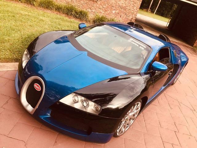 Bugatti Veyron fake từ xe 17 năm tuổi được chấm 9 điểm vì như thật - Ảnh 1.
