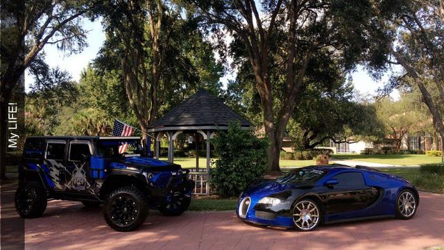 Bugatti Veyron fake từ xe 17 năm tuổi được chấm 9 điểm vì như thật - Ảnh 8.