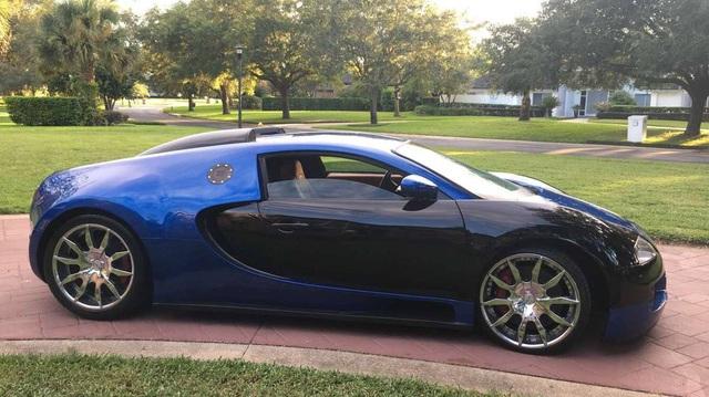 Bugatti Veyron fake từ xe 17 năm tuổi được chấm 9 điểm vì như thật - Ảnh 2.