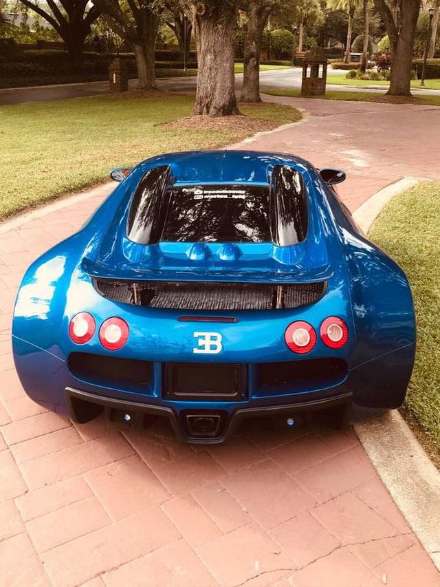 Bugatti Veyron fake từ xe 17 năm tuổi được chấm 9 điểm vì như thật - Ảnh 7.