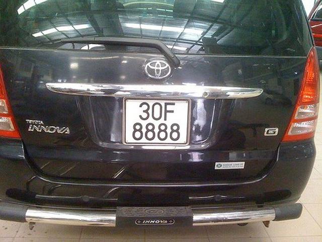 'Lác mắt' trước dàn xe Toyota biển số siêu đẹp - Ảnh 4.