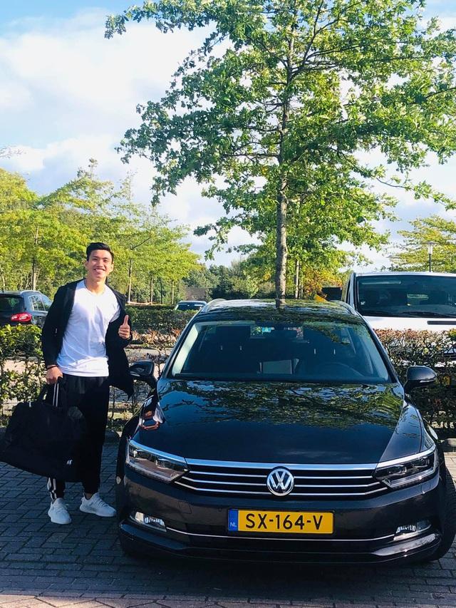 Chiếc ô tô mà cầu thủ Đoàn Văn Hậu được cấp khi thi đấu tại Hà Lan có giá bao nhiêu? - Ảnh 1.