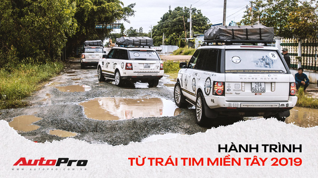 Khám phá 'đồ chơi' hàng hiệu giúp đoàn Range Rover của Trung Nguyên vượt gần 2.000 km tới Cà Mau một cách suôn sẻ