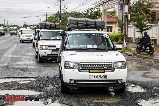 Khám phá 'đồ chơi' hàng hiệu giúp đoàn Range Rover của Trung Nguyên vượt gần 2.000 km tới Cà Mau một cách suôn sẻ - Ảnh 2.