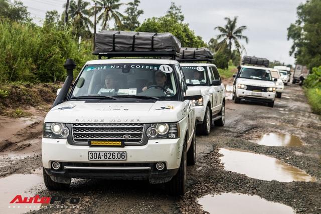 Khám phá 'đồ chơi' hàng hiệu giúp đoàn Range Rover của Trung Nguyên vượt gần 2.000 km tới Cà Mau một cách suôn sẻ - Ảnh 6.