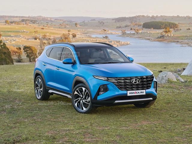 Đây liệu có phải là thiết kế của Hyundai Tucson thế hệ mới nhất? - Ảnh 1.