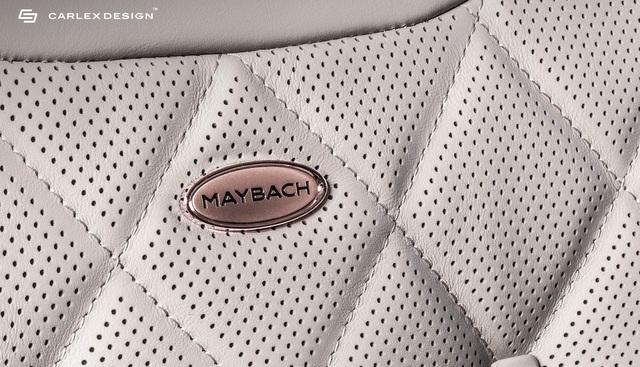Carlex Design trình làng bản độ Maybach S650 xa xỉ dành cho những đại gia yêu thích vàng hồng - Ảnh 2.