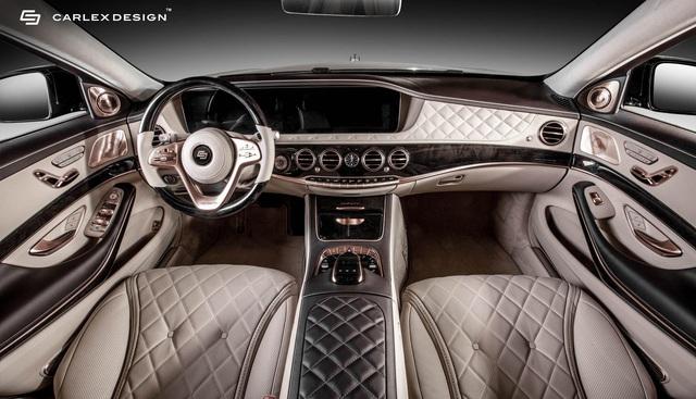 Carlex Design trình làng bản độ Maybach S650 xa xỉ dành cho những đại gia yêu thích vàng hồng - Ảnh 3.