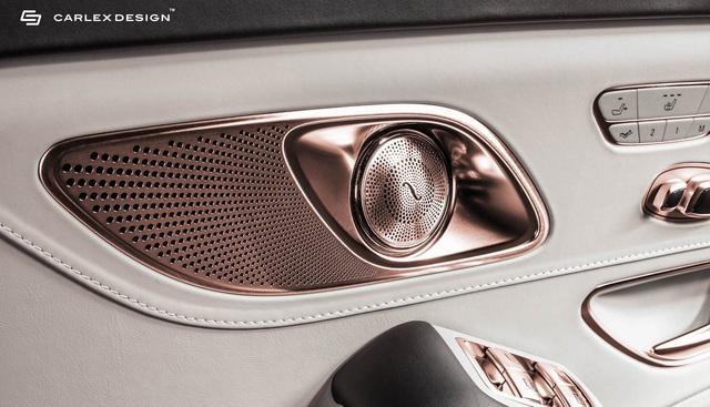 Carlex Design trình làng bản độ Maybach S650 xa xỉ dành cho những đại gia yêu thích vàng hồng - Ảnh 4.