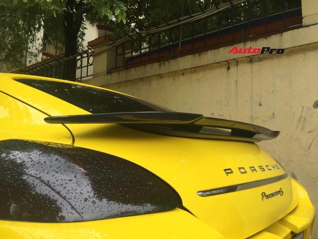 Dân chơi Hà thành độ Porsche Panamera 4S theo phong cách 'chưa tới' - Ảnh 4.