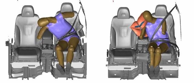 Loại túi khí mới này sẽ sớm có trên xe Hyundai, Kia và Genesis - Ảnh 1.