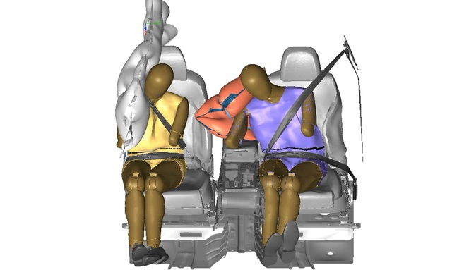 Loại túi khí mới này sẽ sớm có trên xe Hyundai, Kia và Genesis - Ảnh 2.