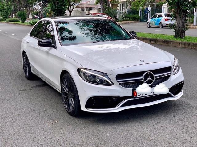 Mercedes-Benz C 200 độ giống C 63 bán lại giá ngang Toyota Camry 2.0 mua mới - Ảnh 1.