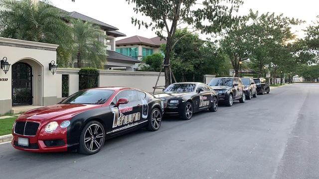 Dàn siêu xe và xe sang đắt đỏ của nhà hot girl Việt lấy chồng người Thái Lan - Ảnh 6.