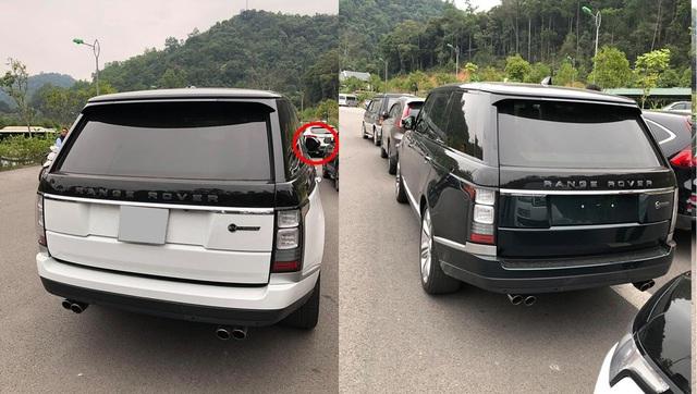 Loạt xe sang Range Rover bị vặt gương, trộm logo ở Việt Nam - Ảnh 2.
