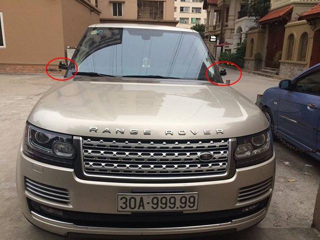 Loạt xe sang Range Rover bị vặt gương, trộm logo ở Việt Nam - Ảnh 4.
