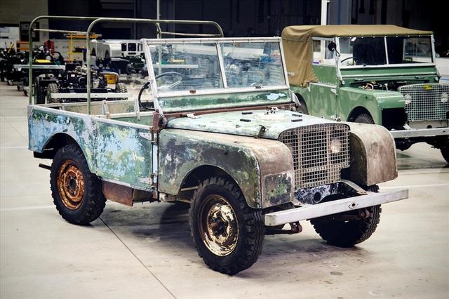 Land Rover 70 tuổi tái xuất hoành tráng sau hơn 1.000 ngày phục dựng - Ảnh 6.