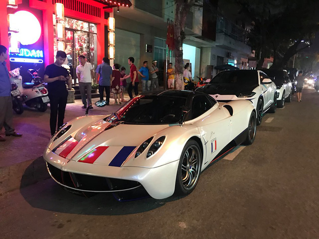 Minh nhựa lần đầu đưa Pagani Huayra cùng dàn xe trăm tỷ tới Đà Nẵng với một điểm đáng chú ý - Ảnh 2.