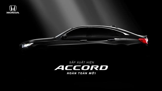 Honda Accord thế hệ mới lộ diện cho khách Việt: Động cơ nhỏ nhưng mạnh và tiết kiệm xăng hơn Toyota Camry - Ảnh 1.