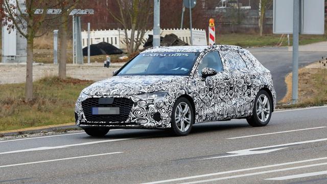 Audi A3 2020 - đối thủ Mercedes-Benz A-Class chuẩn bị ra mắt vào năm sau